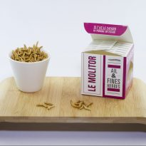 Insectes comestibles molitor/ail&fines herbes