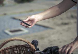 Faire du vélo en jupe