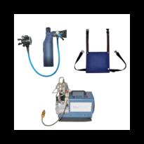 Pack MiniDive pro avec petit compresseur électrique - Mini bouteille de plongée