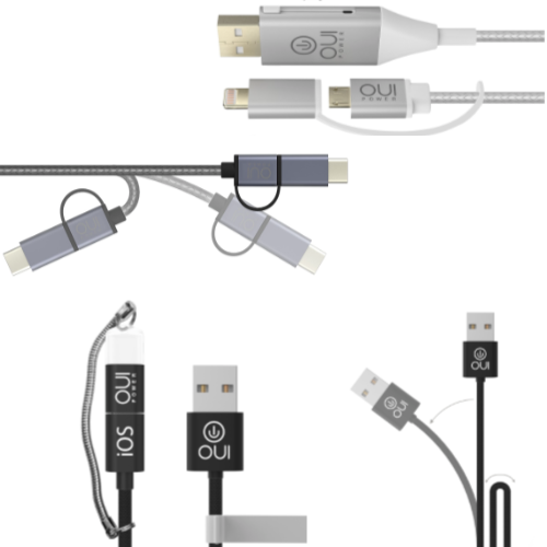 Cables multifonctions OUI smart