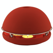 chauffage-ecologique-naturel-bougie-egloo-rouge